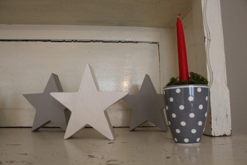 Weihnachtsdeko Green Gate, Sterne