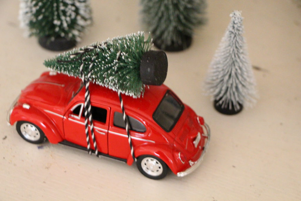 Käfer mit Weihnachtsbaum