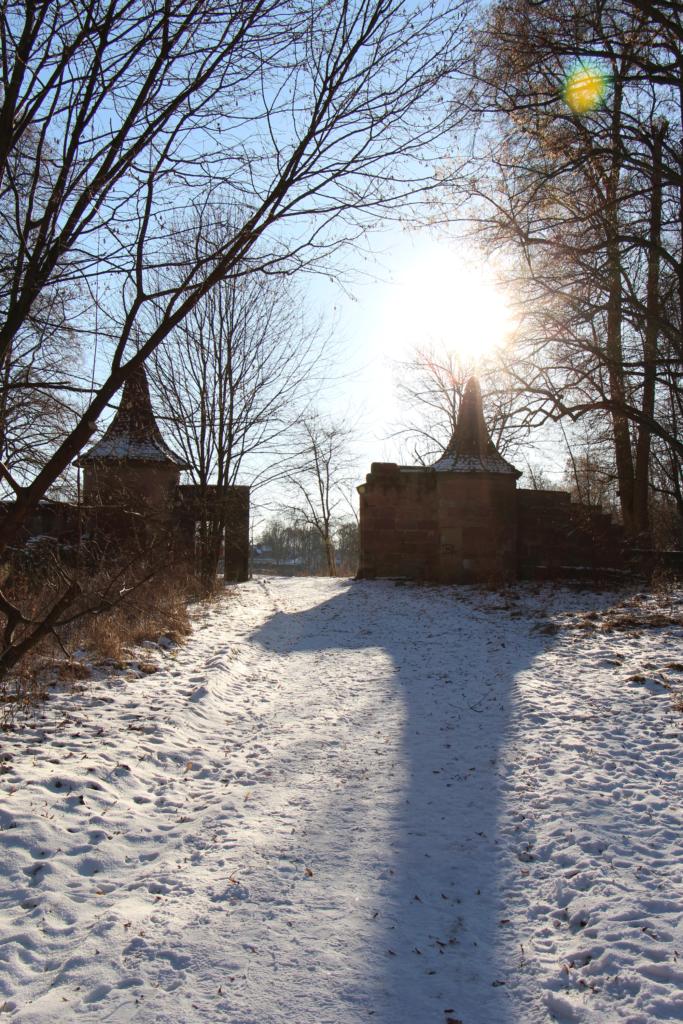 Ruinen Schloss Oberbürg