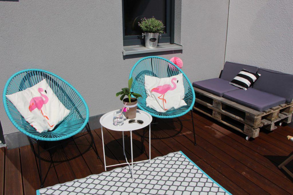 Draußen wohnen: Dachterrasse im Ibiza-Style - wohnmadame.de