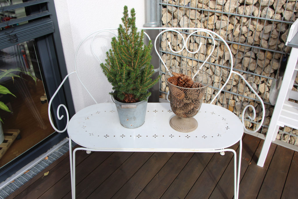 Winterdeko für den Garten