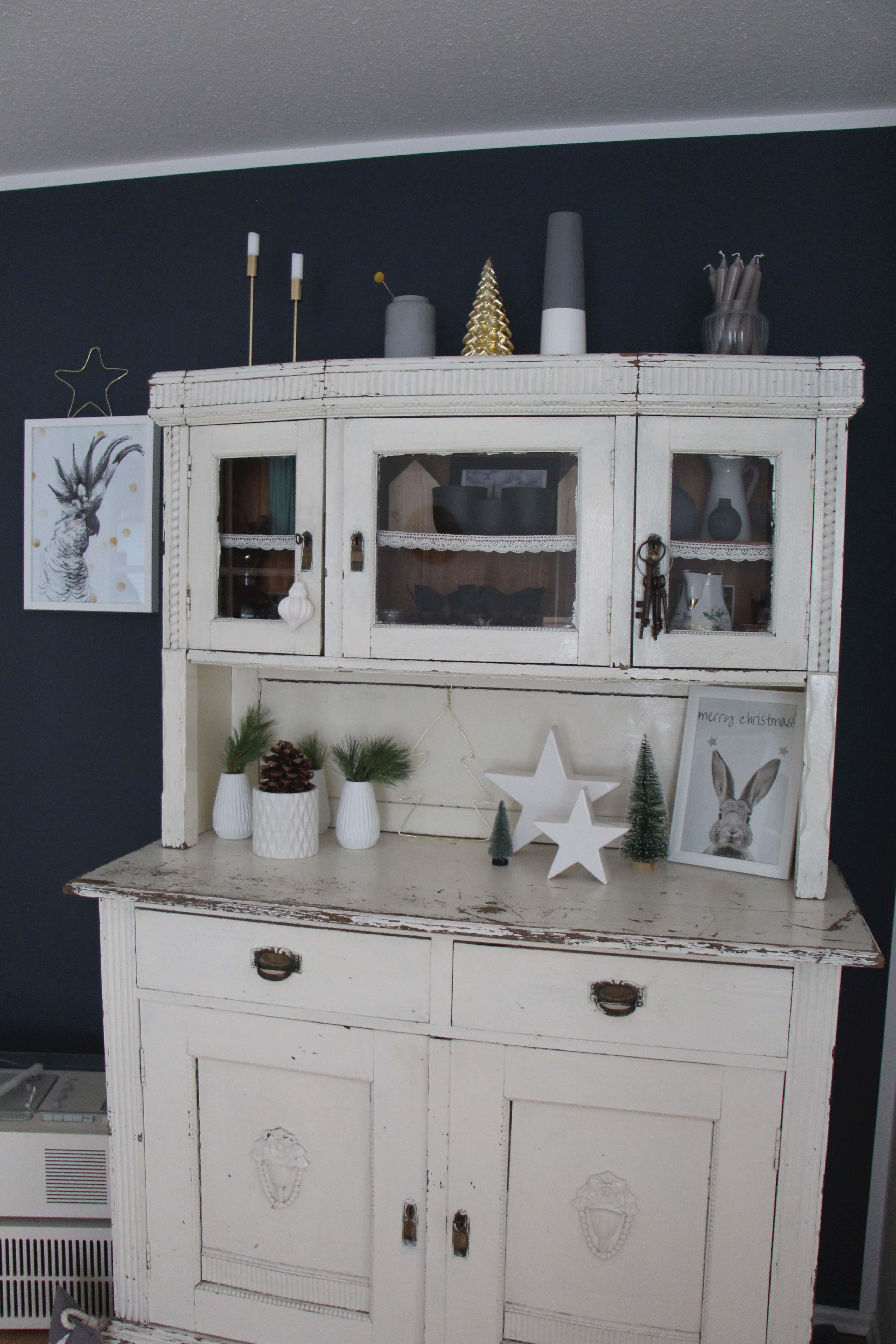 hohoho weihnachtsdeko im hause wohnmadame und. Black Bedroom Furniture Sets. Home Design Ideas