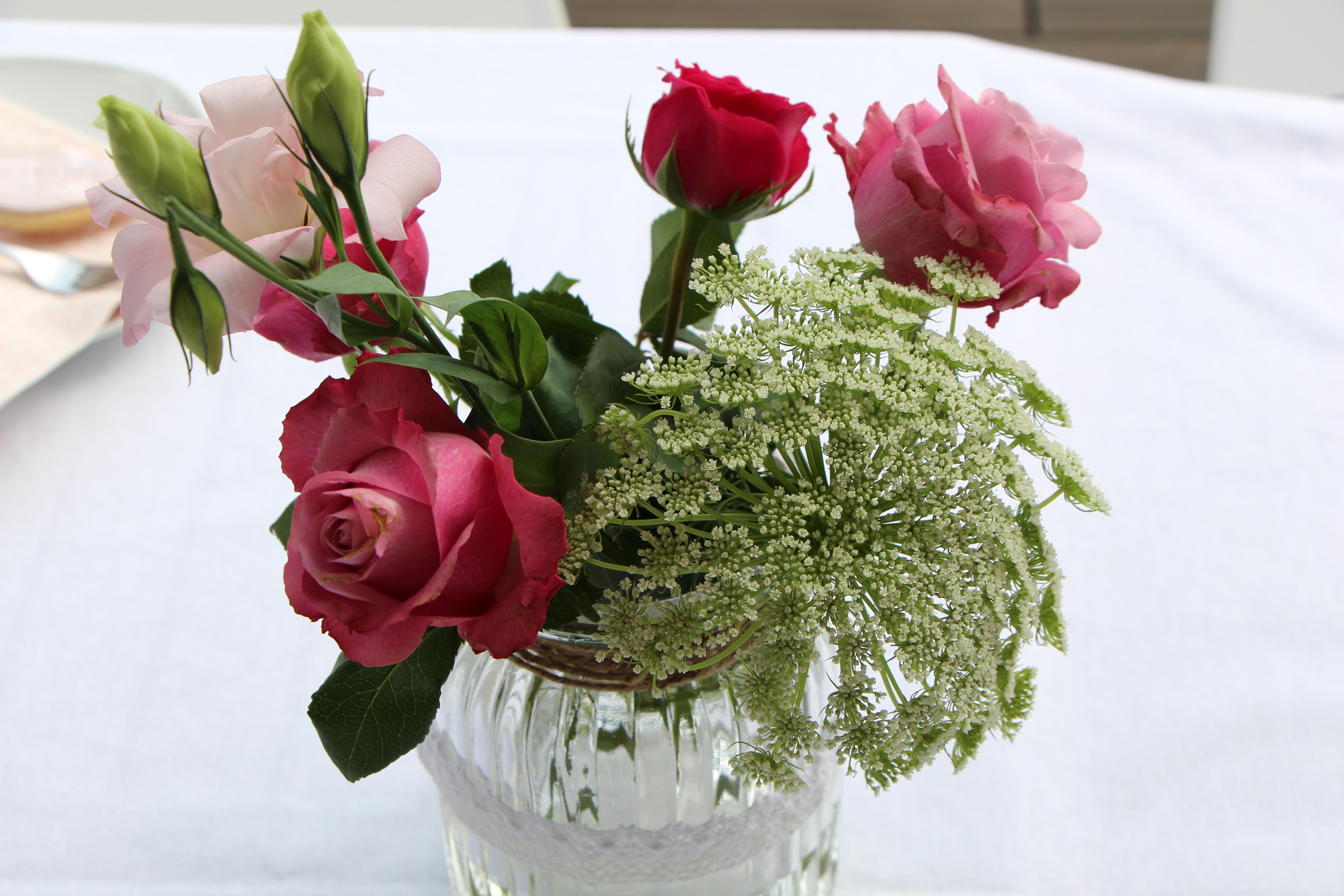 Blumendeko Taufe